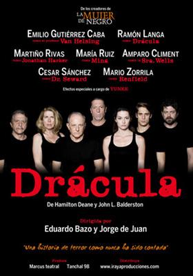 Drácula Teatro Marquina Madrid