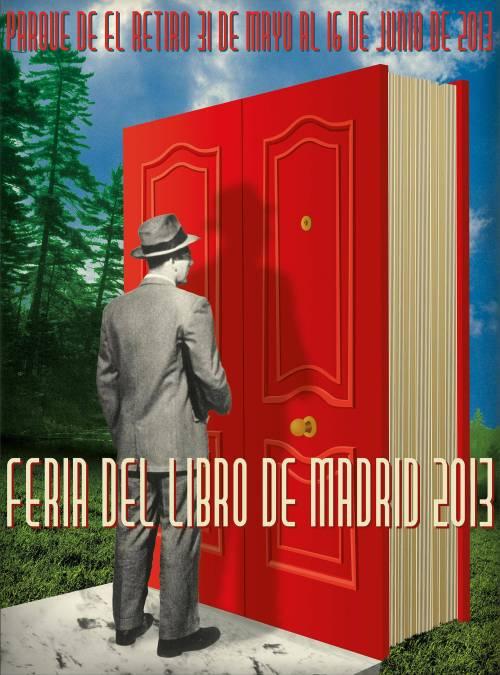 cartel feria del libro madrid