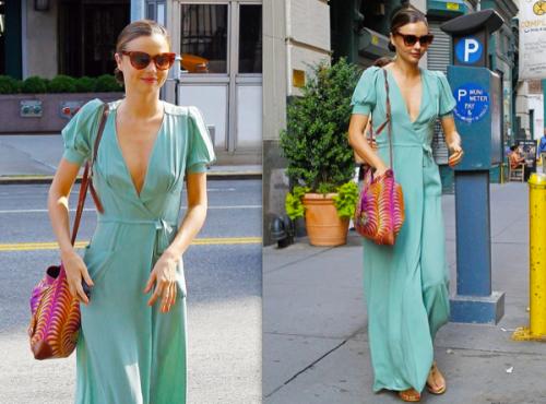 celebrity-street-style-miranda-kerr-summer-dress-2012