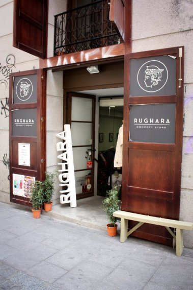 Rughara-entrada
